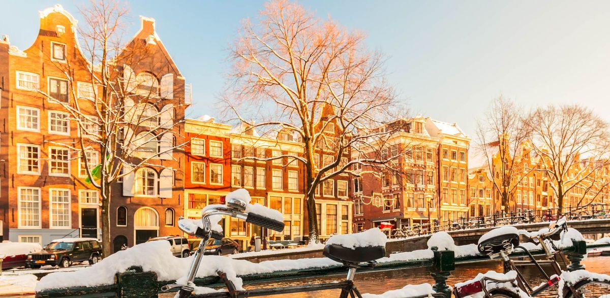 amsterdam canals winter
