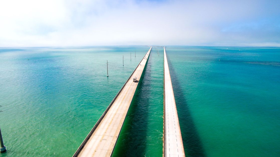 key west seven mile highway overwater