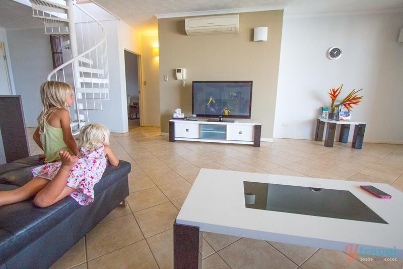 Darwin accommodation via AirBnB