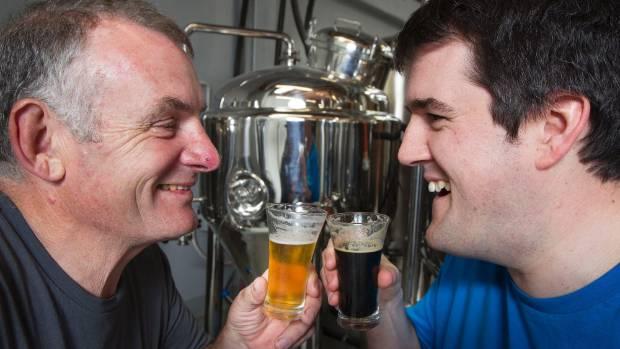 Bonding over beer at Baylands Brewery, Petone.