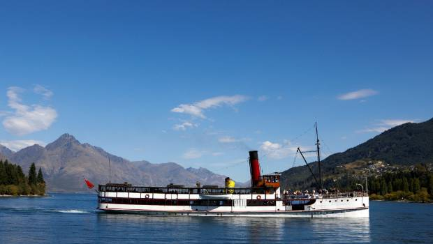 From her launch in 1912 the TSS Earnslaw has been chugging up and down Lake Wakatipu.