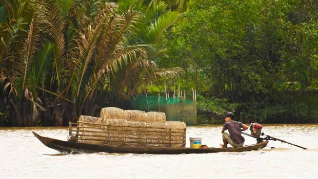 A cruise along the Mekong takes you to hard-to-access rural areas.