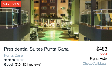 25% Off: 4-Night Punta Cana Vacation With All-Inclusive Suite From $483 - 4