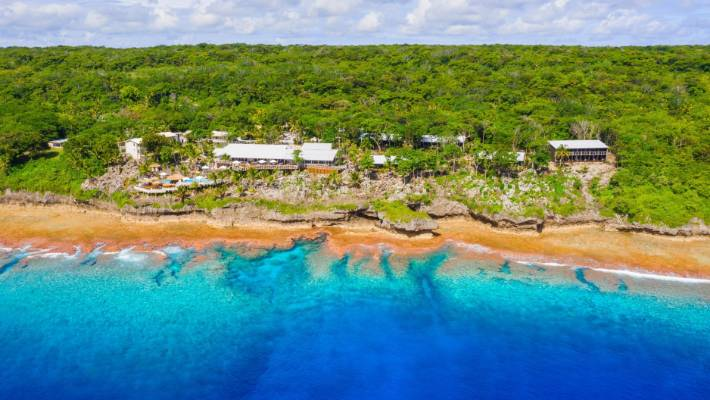 The Scenic Matavai Resort has the best outlook on the island