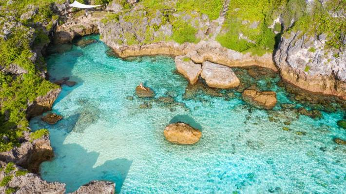 The Lima Rock Pools need to be top of your list of activities in Niue.