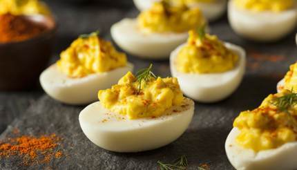 Senfeier ( mustard eggs)