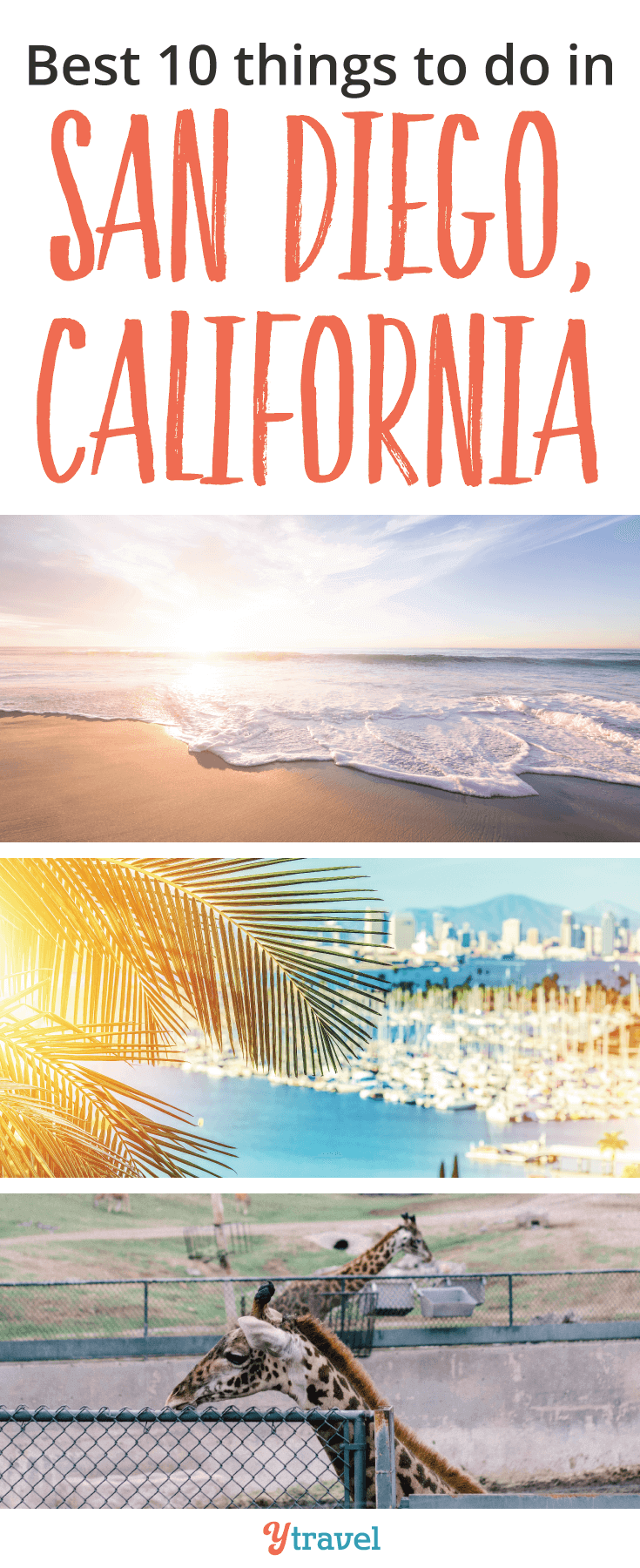 Are you looking for things to do in San Diego? Check out the beautiful beaches, eat like a local and visit the zoo!