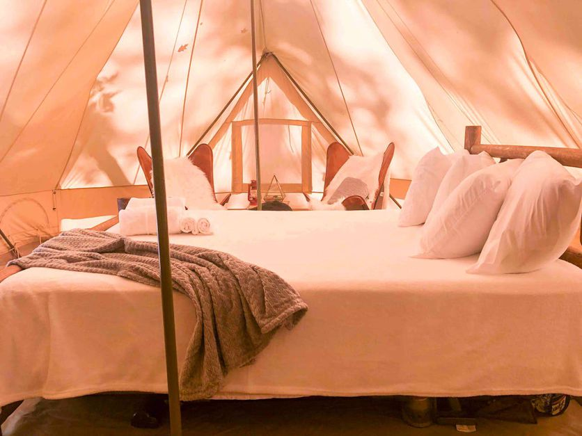 Weekend Waterfall Glamping in Tennessee from $87 - 4