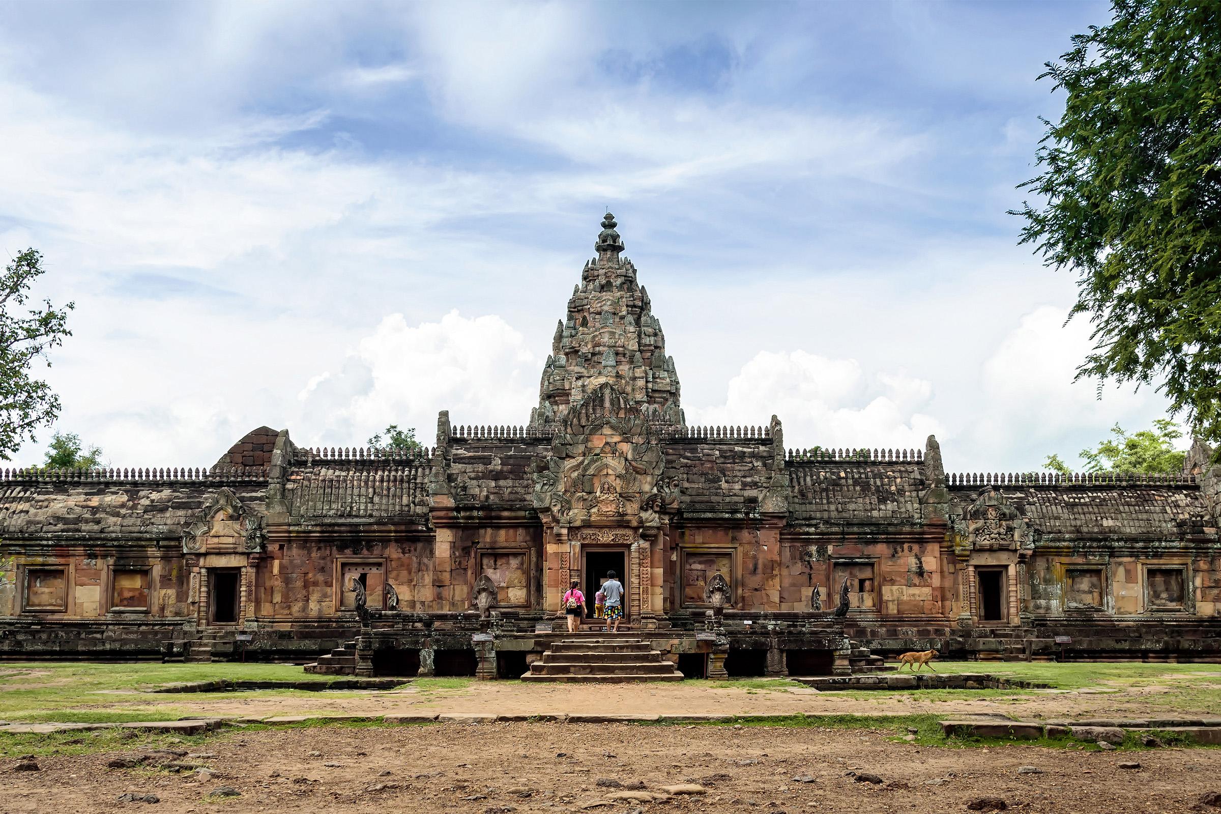 Phanom Rung Castle in Buriram Thailand