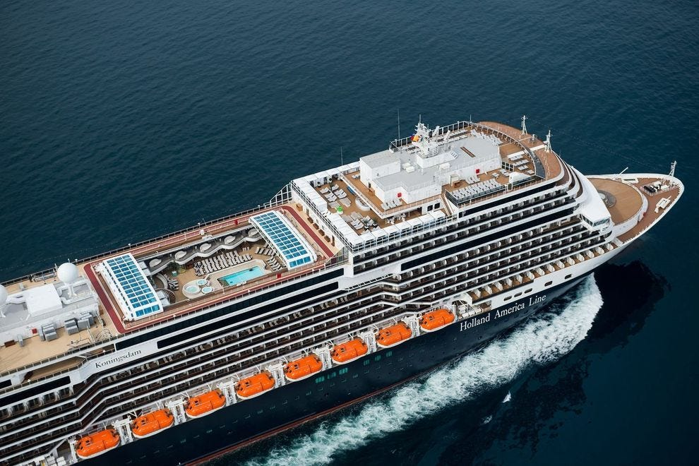 Winning ship known for its live music venues and range of onboard experiences