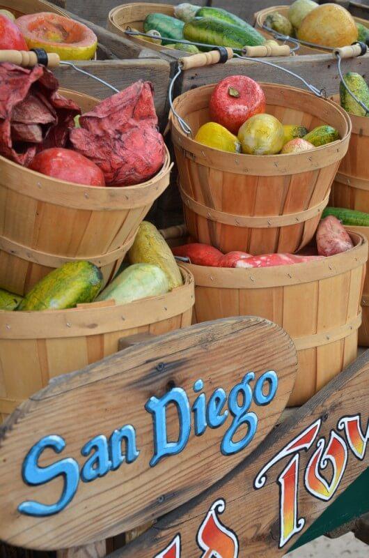 San Diego farmer's market