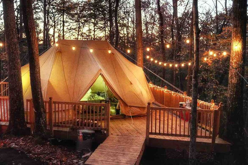 Weekend Waterfall Glamping in Tennessee from $87 - 10