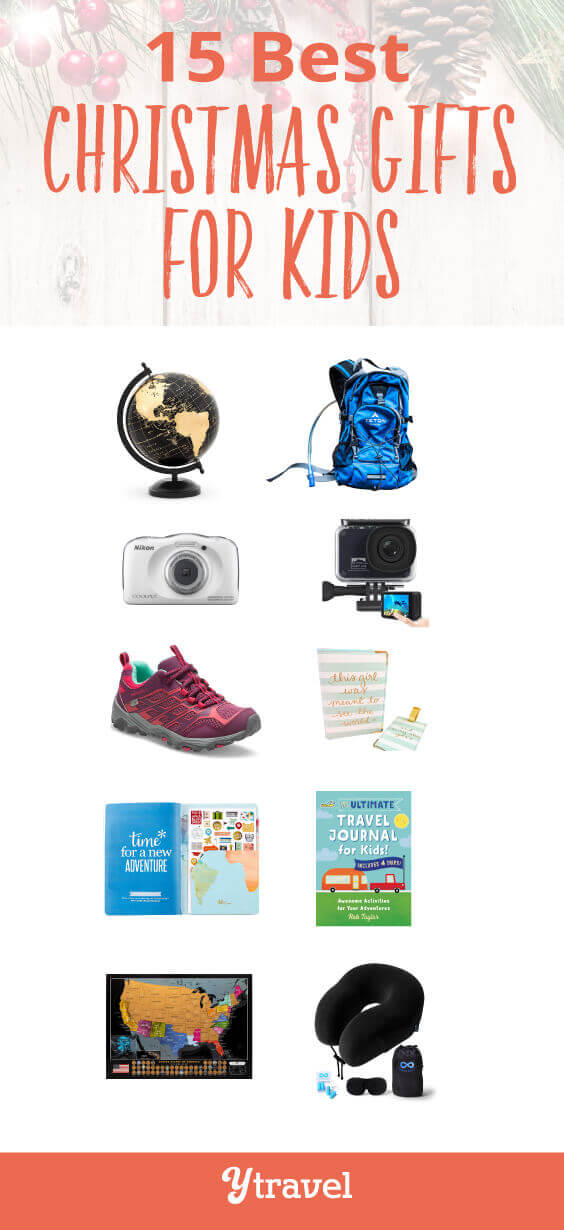 Looking for the best Christmas gifts for kids this holiday season? Especially for kids who love family travel? Check out this list of 15 Christmas gift ideas for kids (girls and boys). And all of these Christmas gifts for children can be purchased online.