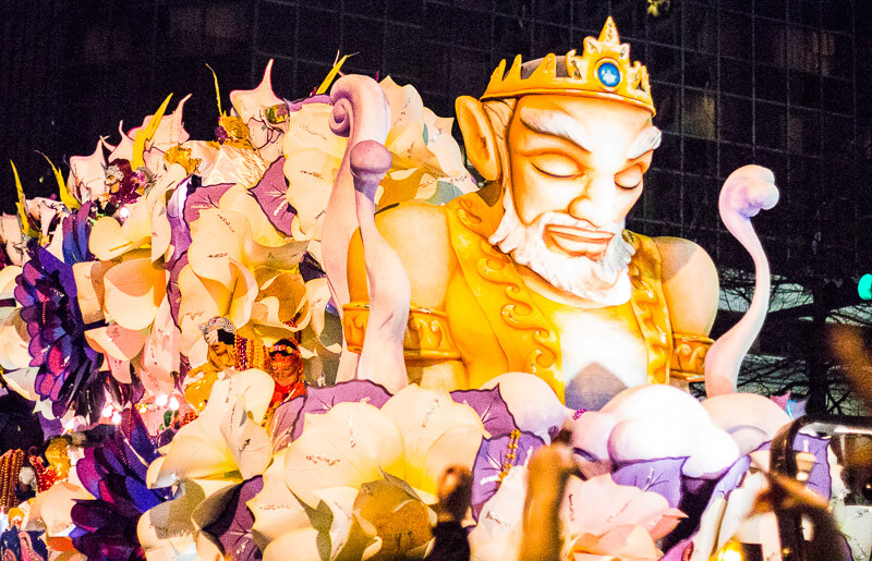 Orpheus Parade at Mardi Gras