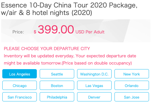 10-Day China Tour from $399! Includes 5-Star Hotels, Flights, Tour Guide, & More - 7