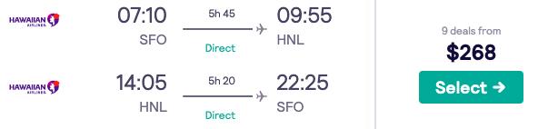 Price Drop! Both Coast Flights to Hawaii from $268 - 3