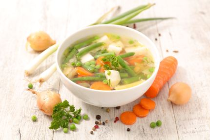 Vegan detox soup
