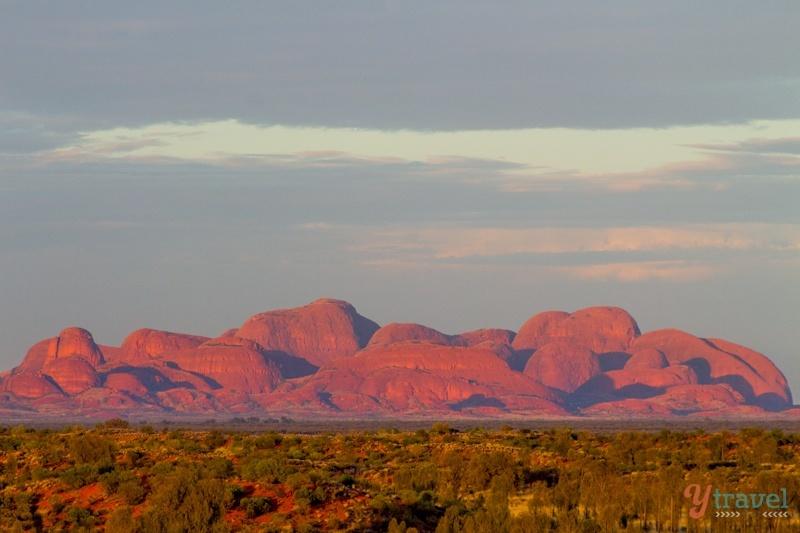 Sunrise over Kata Tjuta, Central Australia