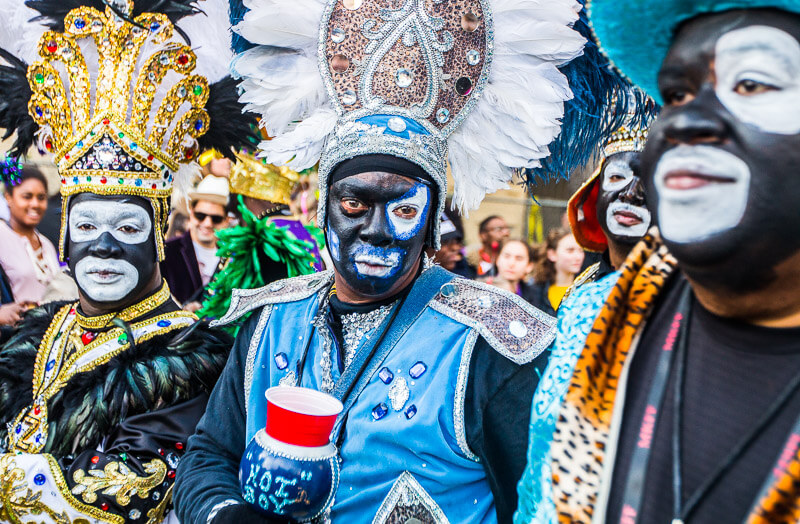 Zulu Parade at Mardi Gras, New Orleans