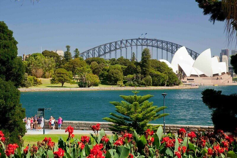 Sydnney's Royal Botanic Garden - one of the best things to do in 48 hours.