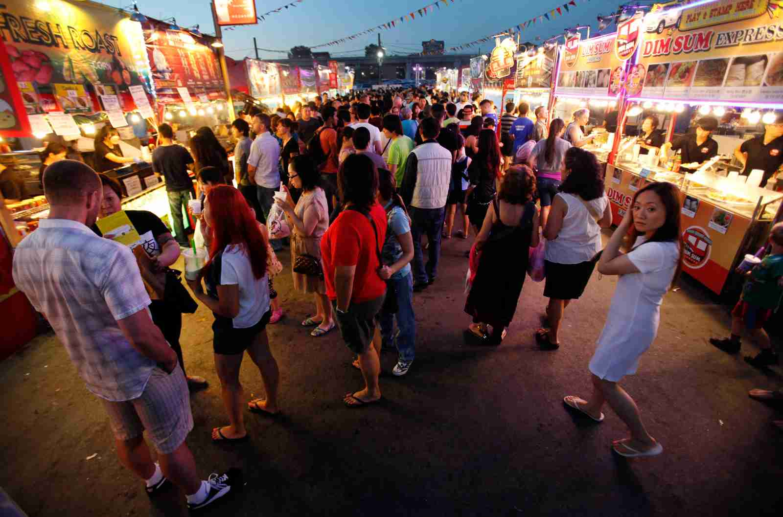 The Richmond Night Market. (Photo by Al Seib/Los Angeles Times/Getty Images)