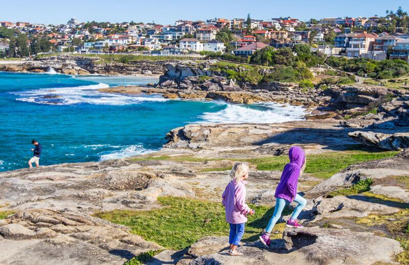 Bondi to Bronte coastal walk, Sydney, Australia