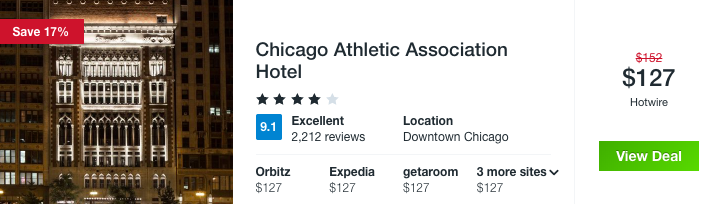 New Year, New You? Chicago Sport Hotel from $127 - 11