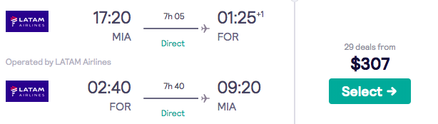 Flights to Brazil from $307—Normally $1,000s - 5