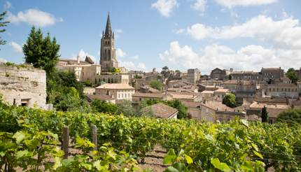 St Emilion in Bordeaux