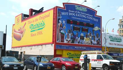 Nathan's Famous International Hot Dog Eating Contest
