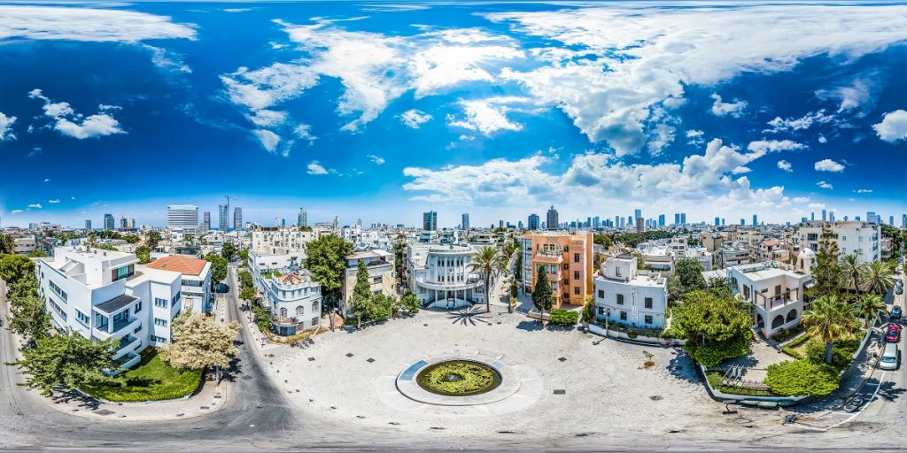 Bialik Square in Tel Aviv. Photo by Barak Brinker