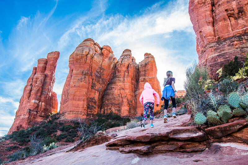 Sedona Cathedral Rock Hike with kids