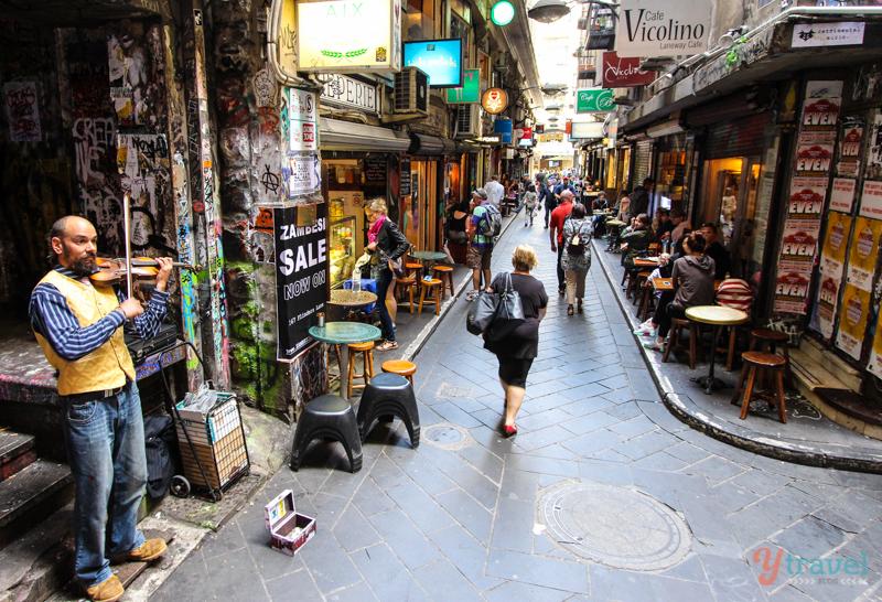 Centre Place Laneway, Melbourne, Australia