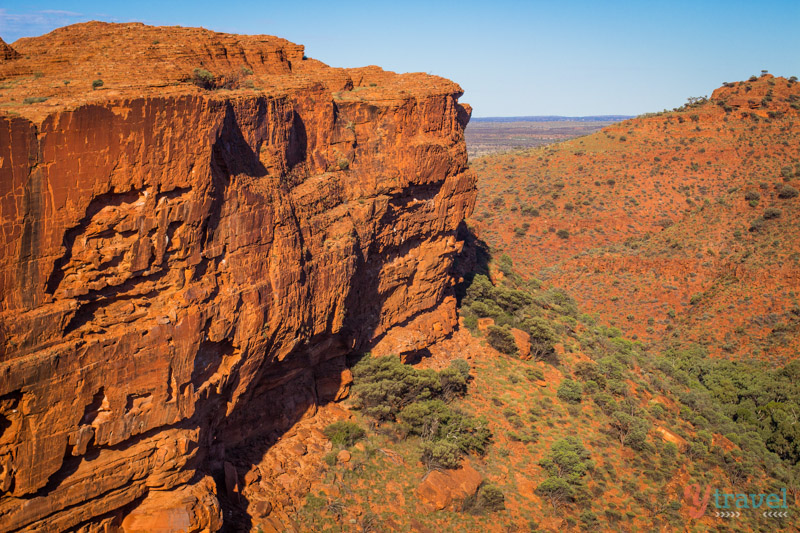Kings Canyon RIm walk in the Northern Territory - one of the best short walks in Australia