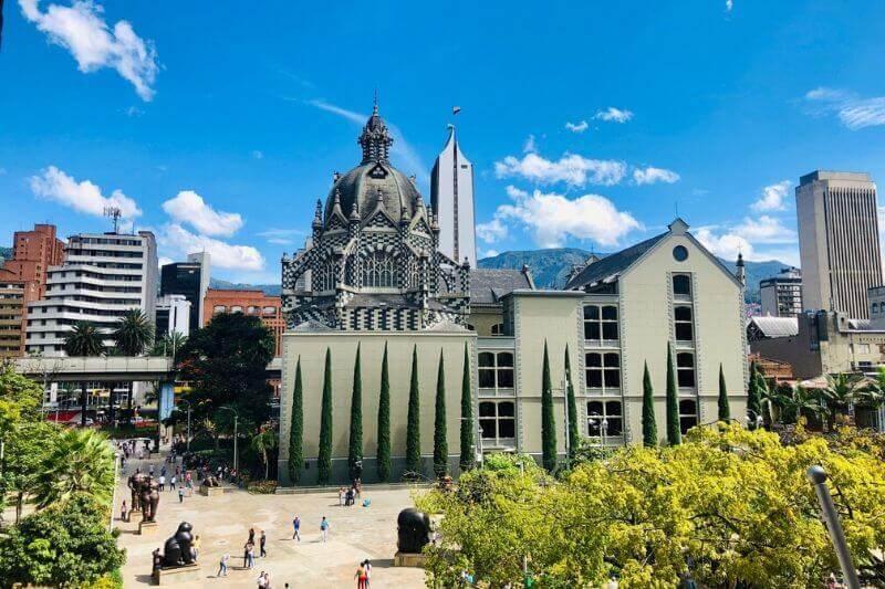 Medellin Botero Square, Colombia