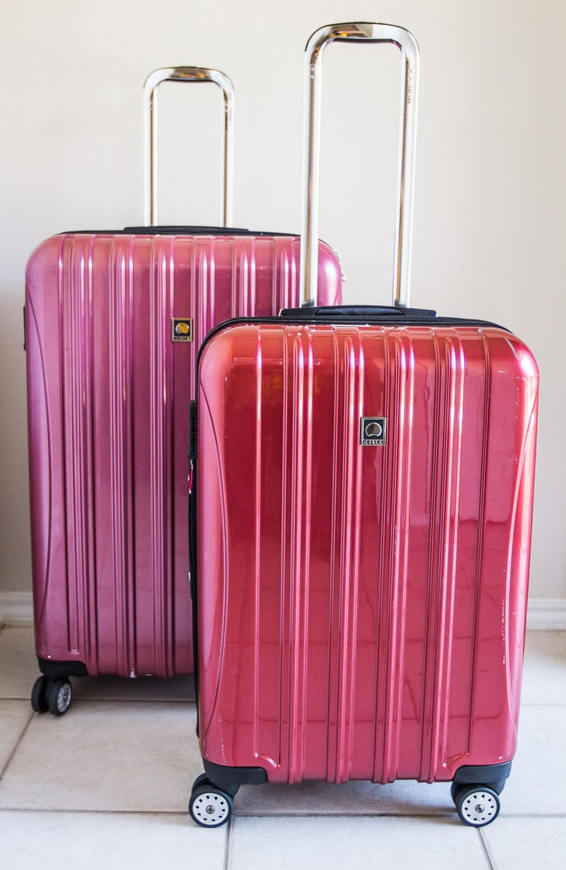 Delsey Helium Aero Luggage - one of the best travel suitcases for style, ease, and durability.