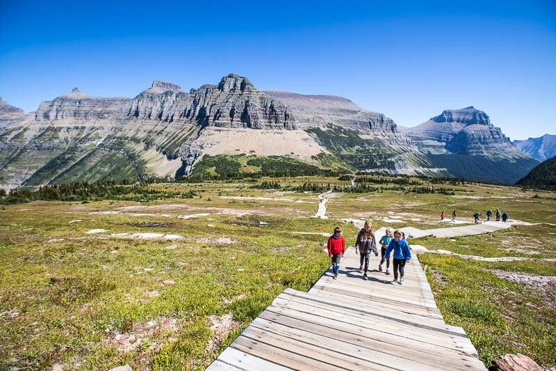 Logan Pass, Glacier Nartional Park, Montana