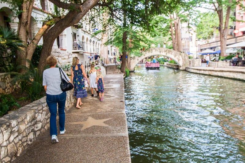 San Antonio River Walk, Texas.