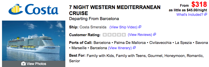 Spend a Week Cruising the Mediterranean from $318—Over 50% Off! - 1