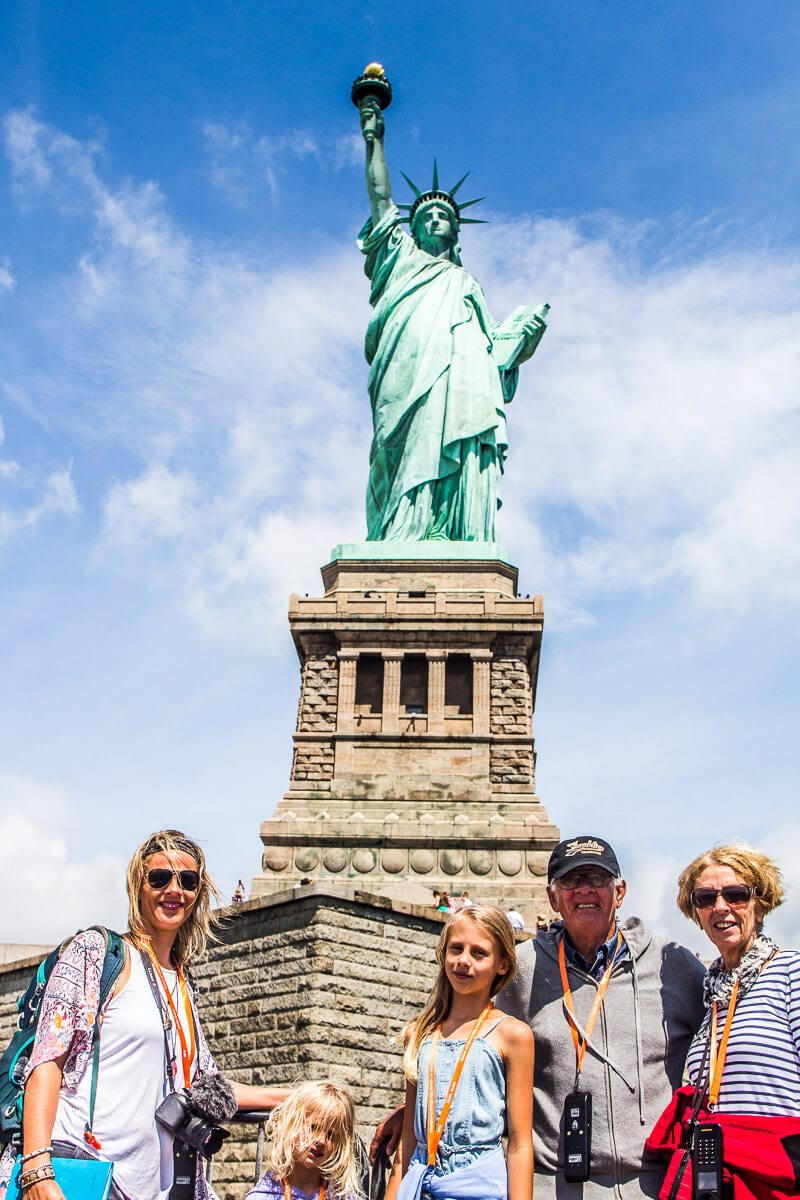 Statue of Liberty tour - one of the best things to do in NYC