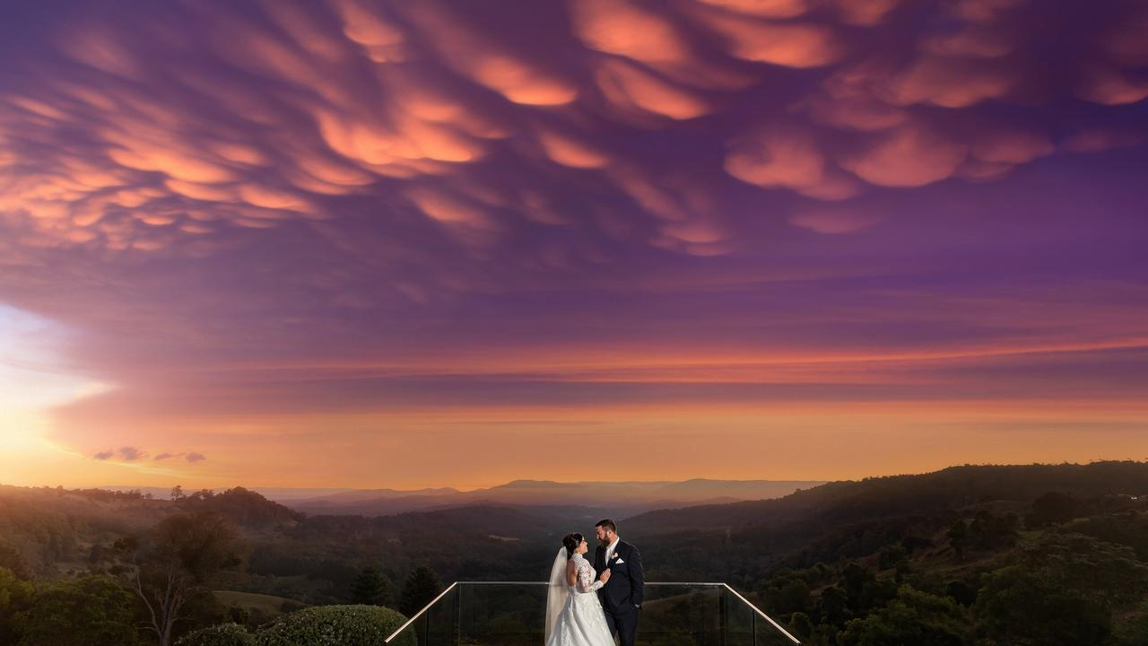 Brooke and Aaron Wedel's wedding at Old Maleny Dairy.