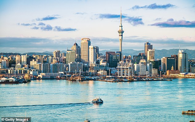 International flights are starting from $149 to Auckland, in New Zealand's North Island (pictured)