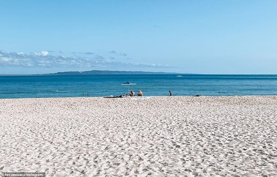 Holidaymakers have fled popular tourist hotspots across Australia amid the coronavirus shutdown. Pictured: Noosa, QLD