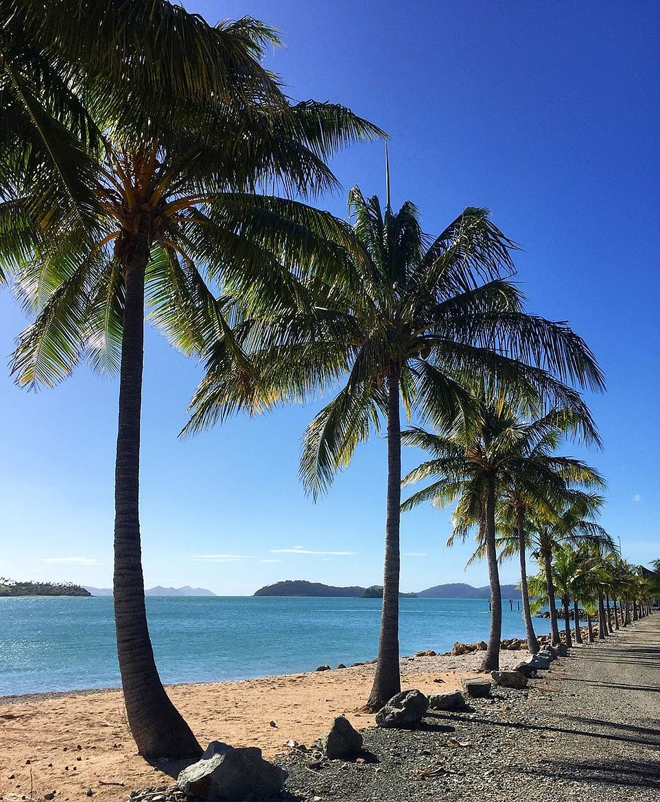 Queensland's most popular tourist beaches have become deserted since the COVID-19 outbreak. Pictured: Hamilton Island