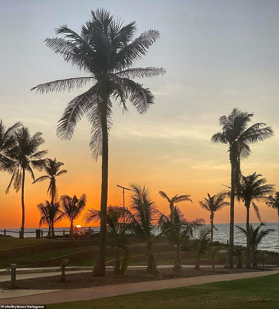 Other tourist destinations like Broome, in Western Australia, (pictured) were desolate without the usual influx of holidaymakers