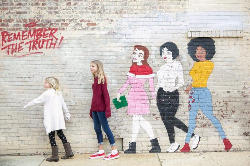 Downtown Raleigh murals