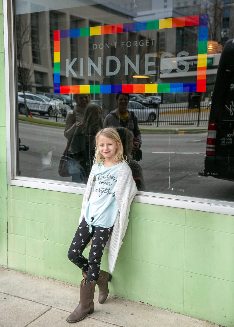 Don't forget Kindness Raleigh