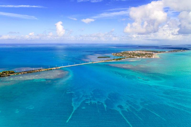 Florida Keys Aerial View.