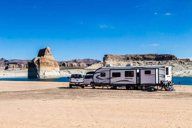 Lone Rock Beach Campground