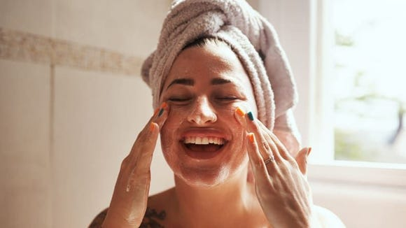 Pamper your skin with an at-home facial.
